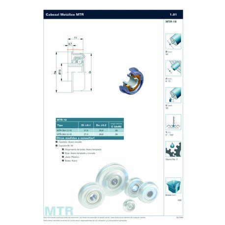 MTR-30X1,5.16.10 ZINC PLATED