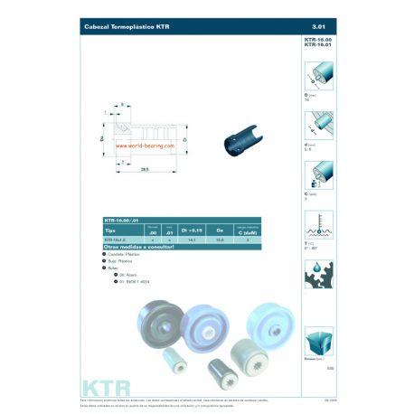 KTR-16 X 1,0.01.6 INOX