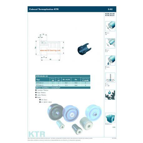 KTR-20 X 1,5.01.6 INOX